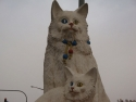 The statue of Van Cat