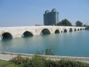 The old bridge of Adana