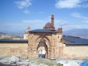 The entrance of Isahak pasha Palace