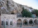 The cave and mosque to Abraham